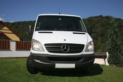 Our van Mercedes Sprinter